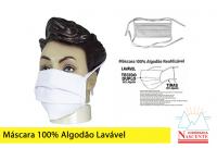Mascara100%algodaoLavavel